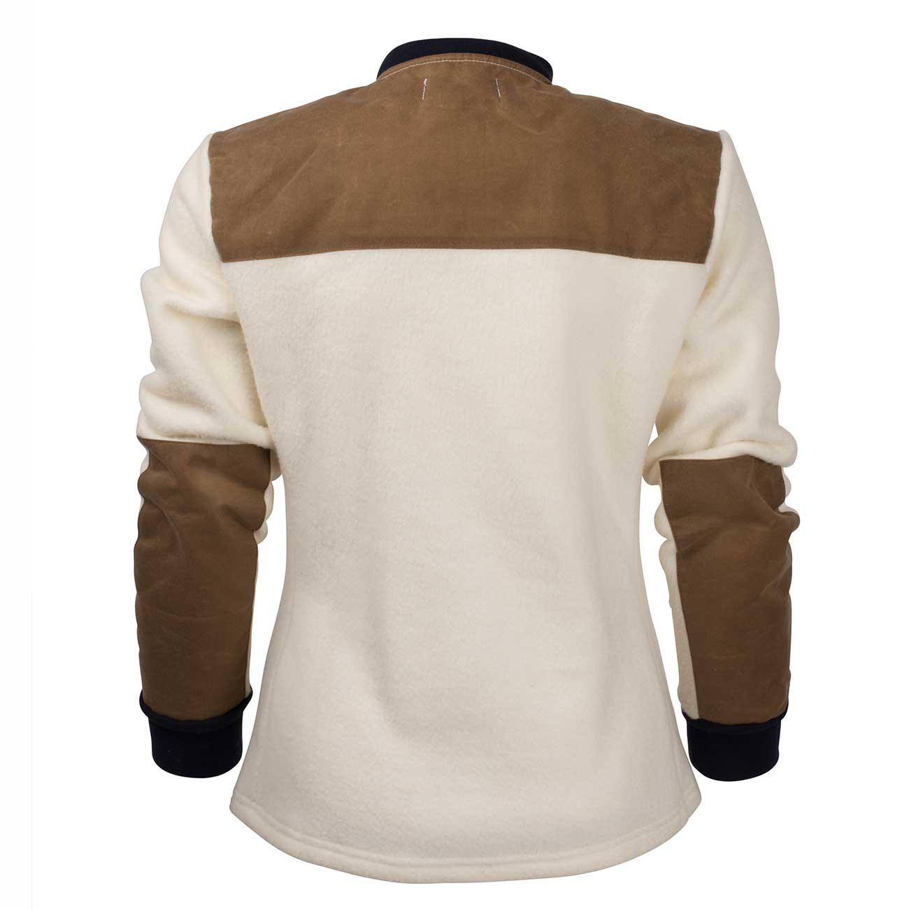 fleece ull jakke dame