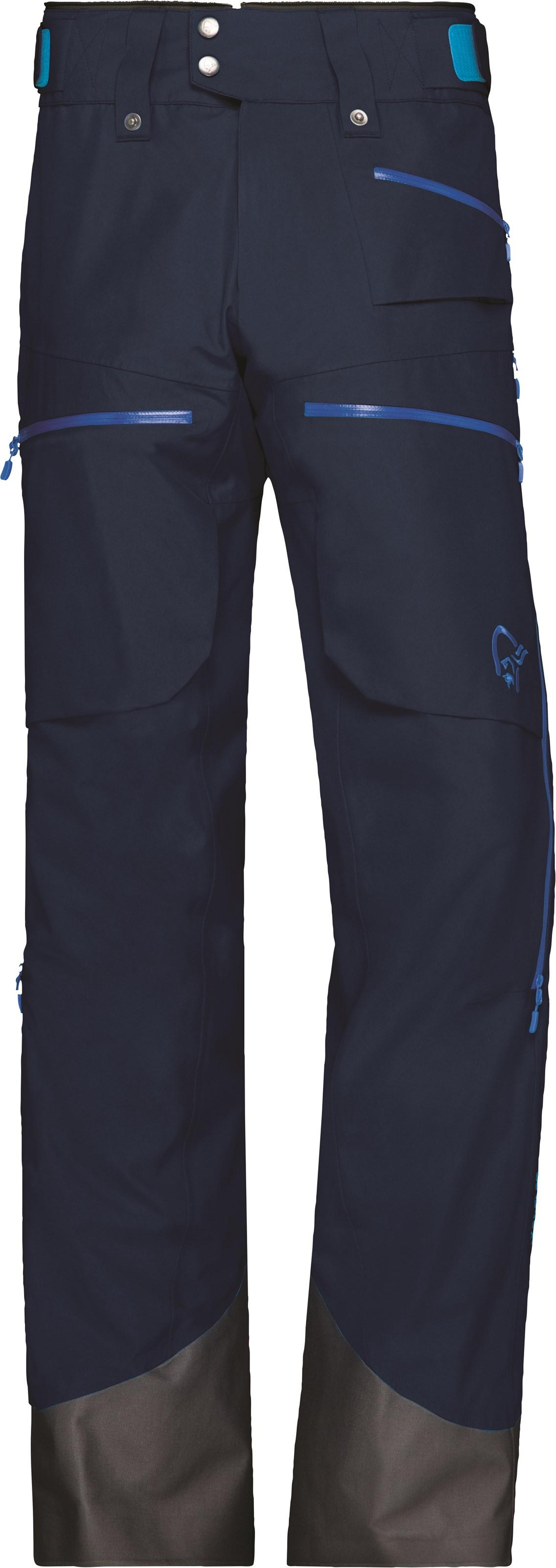 Lofoten Gore Tex Insulated Pants, isolert skallbukse herre (1002 18)