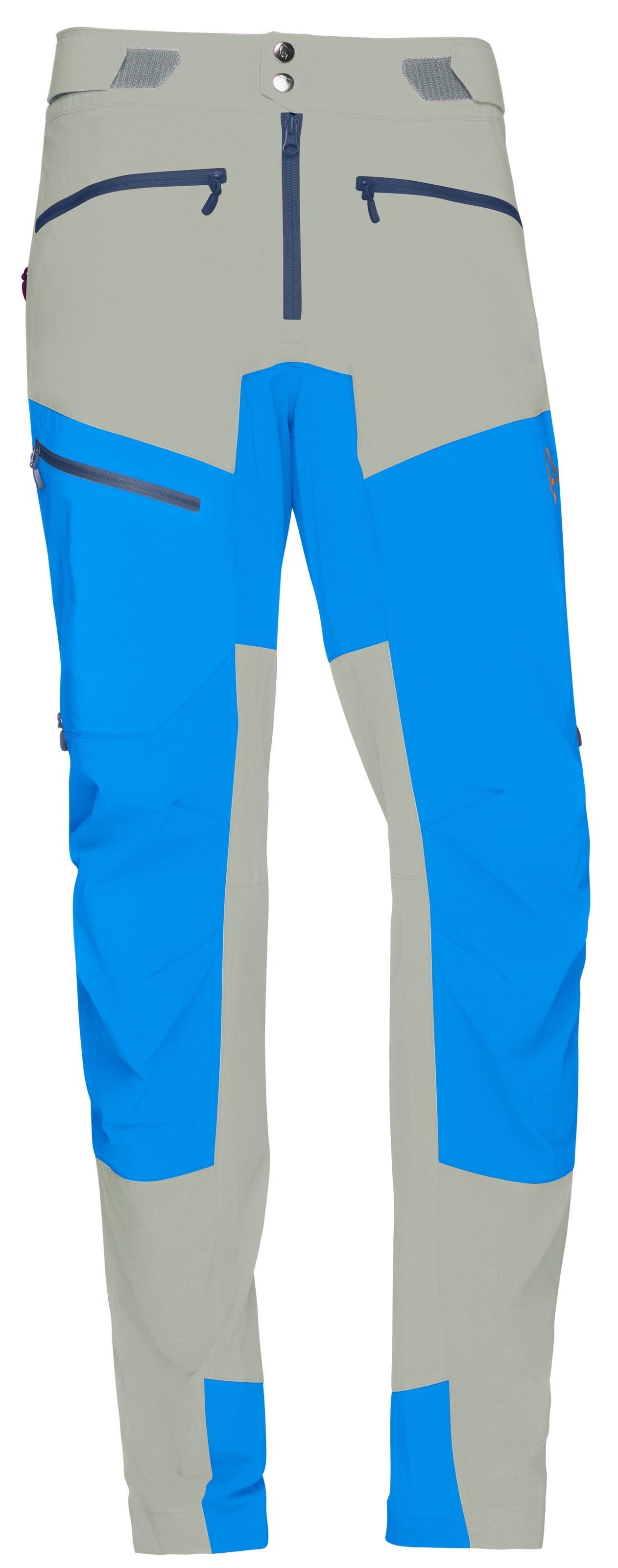 82d13c34 ... Bilde: Norrøna Fjørå flex1 Pants, softshellbukse herre - Castor  Grey/Hot Sapphire 2211 ...