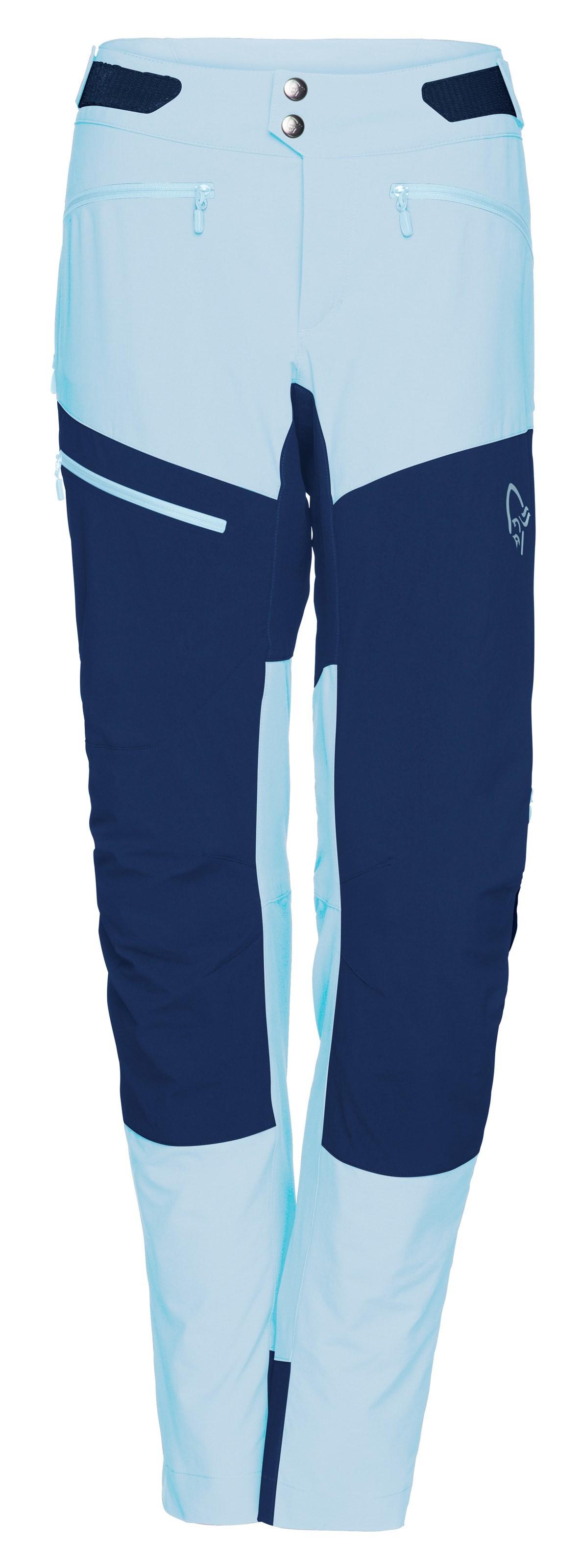 342358a5 Bilde: Norrøna Fjørå flex1 Pants, softshellbukse dame - Trick Blue/Indigo  2224- ...