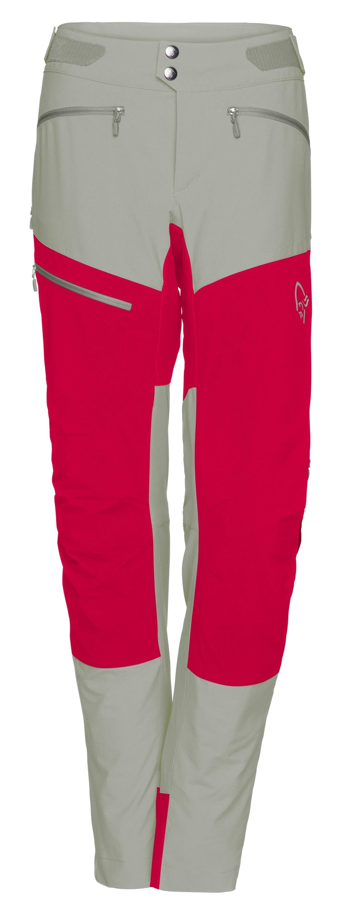 752b690a ... Bilde: Norrøna Fjørå flex1 Pants, softshellbukse dame - Castor  Grey/Jester Red 2224 ...