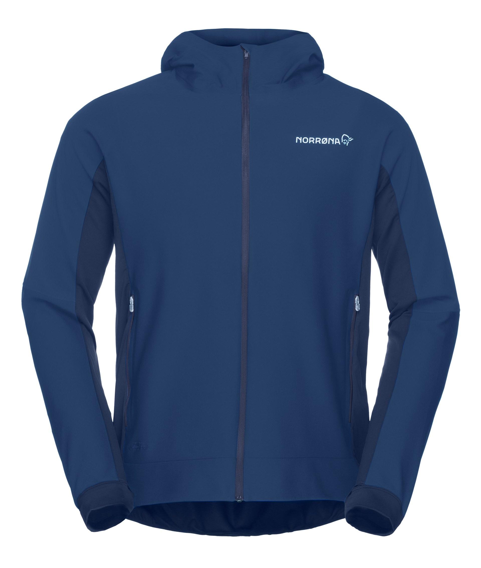 1084268c ... Bilde: Norrøna Bitihorn Windstopper Zip-Hood, jakke herre - Indigo  Night 2602-