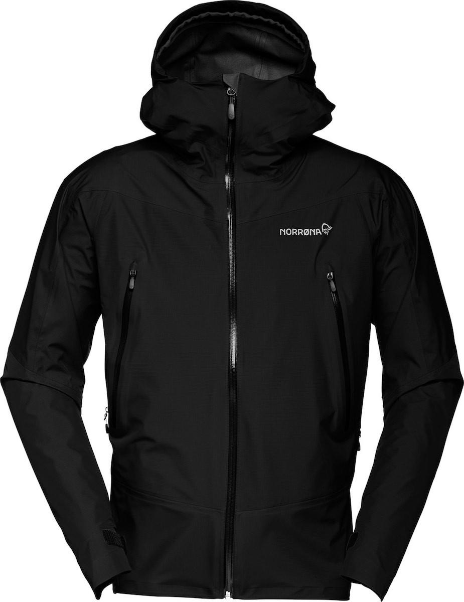 Falketind gore-tex jacket M Caviar 2.jpeg