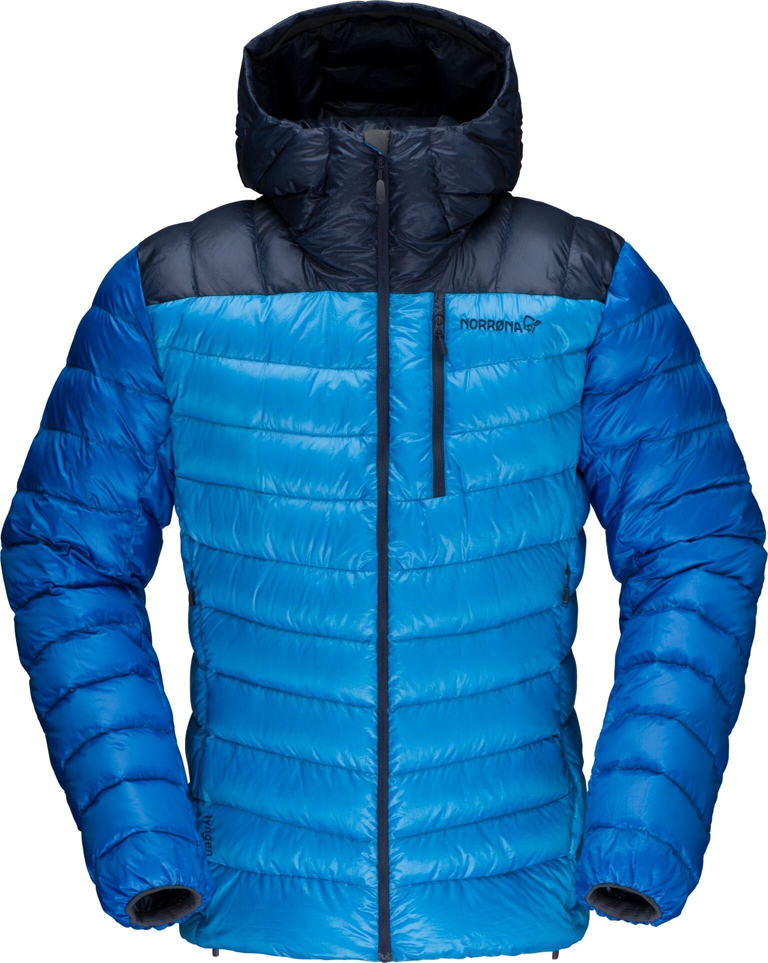 93e0c257 ... Bilde: Norrøna Lyngen down850 Hood Jacket, dunjakke herre - Hot Sapphire