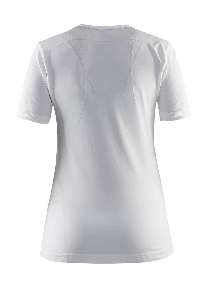 b38f7227 ... Bilde: Craft Active Comfort RN SS treningstrøye dame - White ...