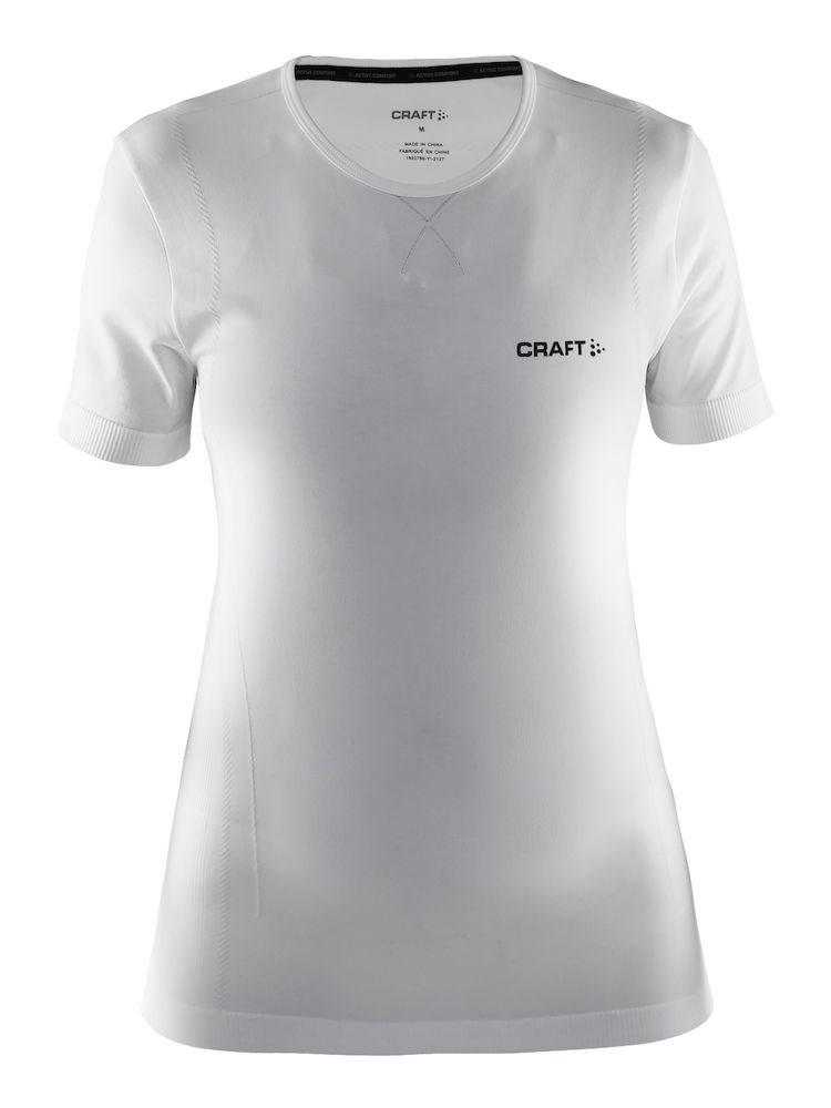 6249d025 Bilde: Craft Active Comfort RN SS treningstrøye dame - White ...