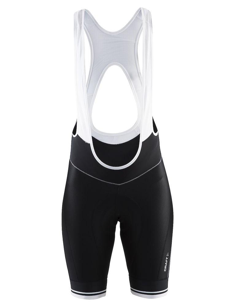 ae917ed4 Bilde: Craft Belle Bib Shorts sykkelshorts dame - Black/White ...