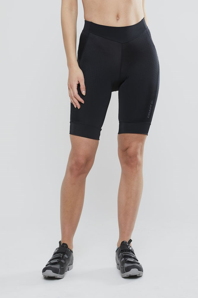 eb4a0cf8 ... Bilde: Craft Rise Shorts, sykkelshorts dame - Black 1906078-999999 ...
