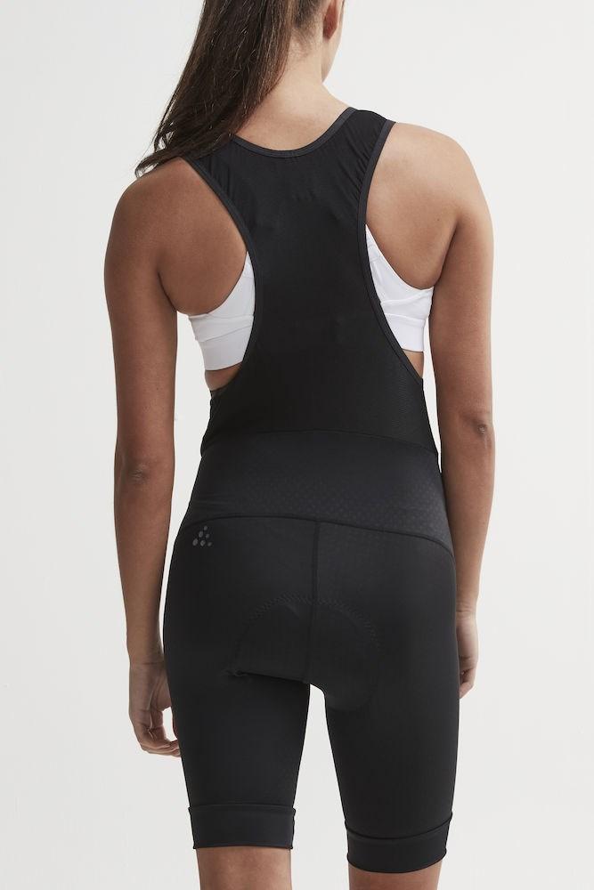 d74d5c84 ... Bilde: Craft Rise Bib Shorts, sykkelshorts dame - Black 1906079-999999  ...