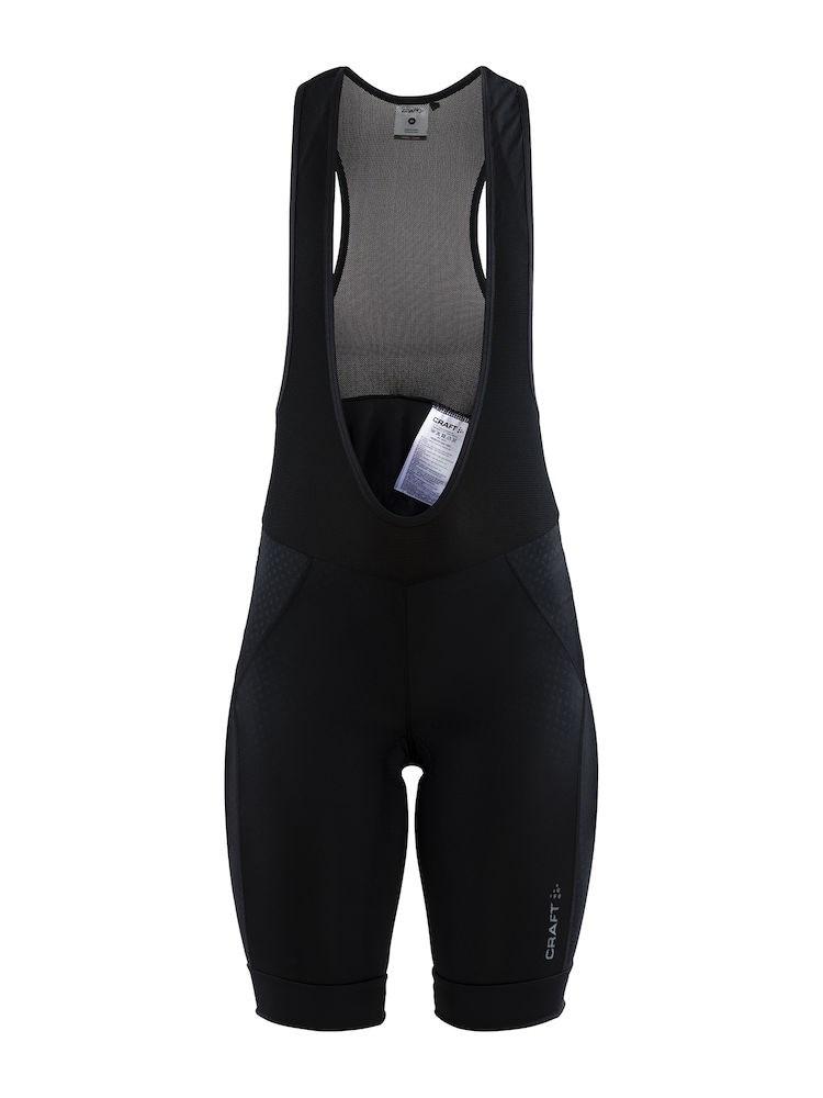 b0de4725 Bilde: Craft Rise Bib Shorts, sykkelshorts dame - Black 1906079-999999 ...