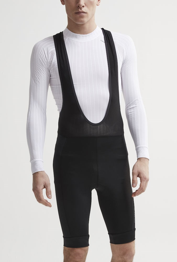 b6db363a ... Bilde: Craft Rise Bib Shorts, sykkelshorts herre - Black 1906099-999999  ...