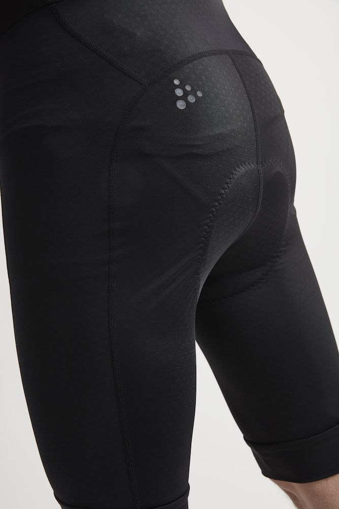 9d476d74 ... Bilde: Craft Rise Bib Shorts, sykkelshorts herre - Black 1906099-999999