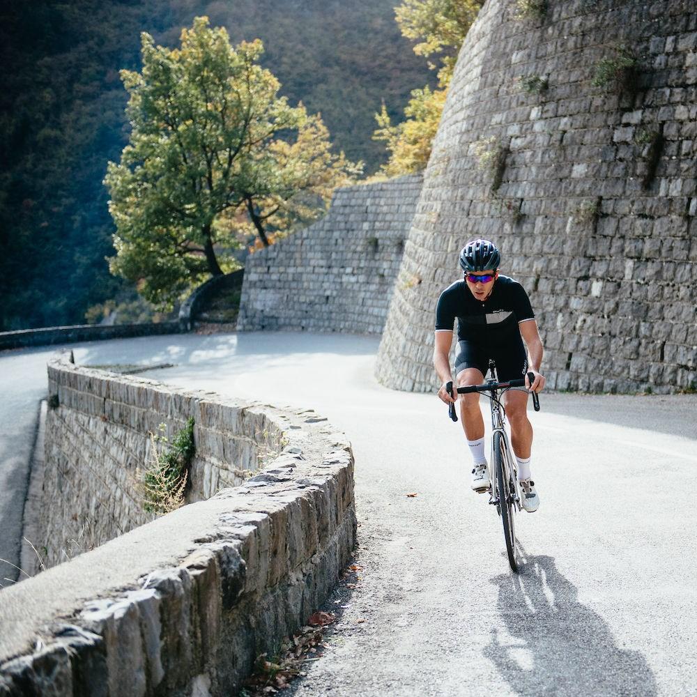 578ad097 ... Bilde: Craft Verve Glow Bib Shorts sykkelshorts herre - Black/White