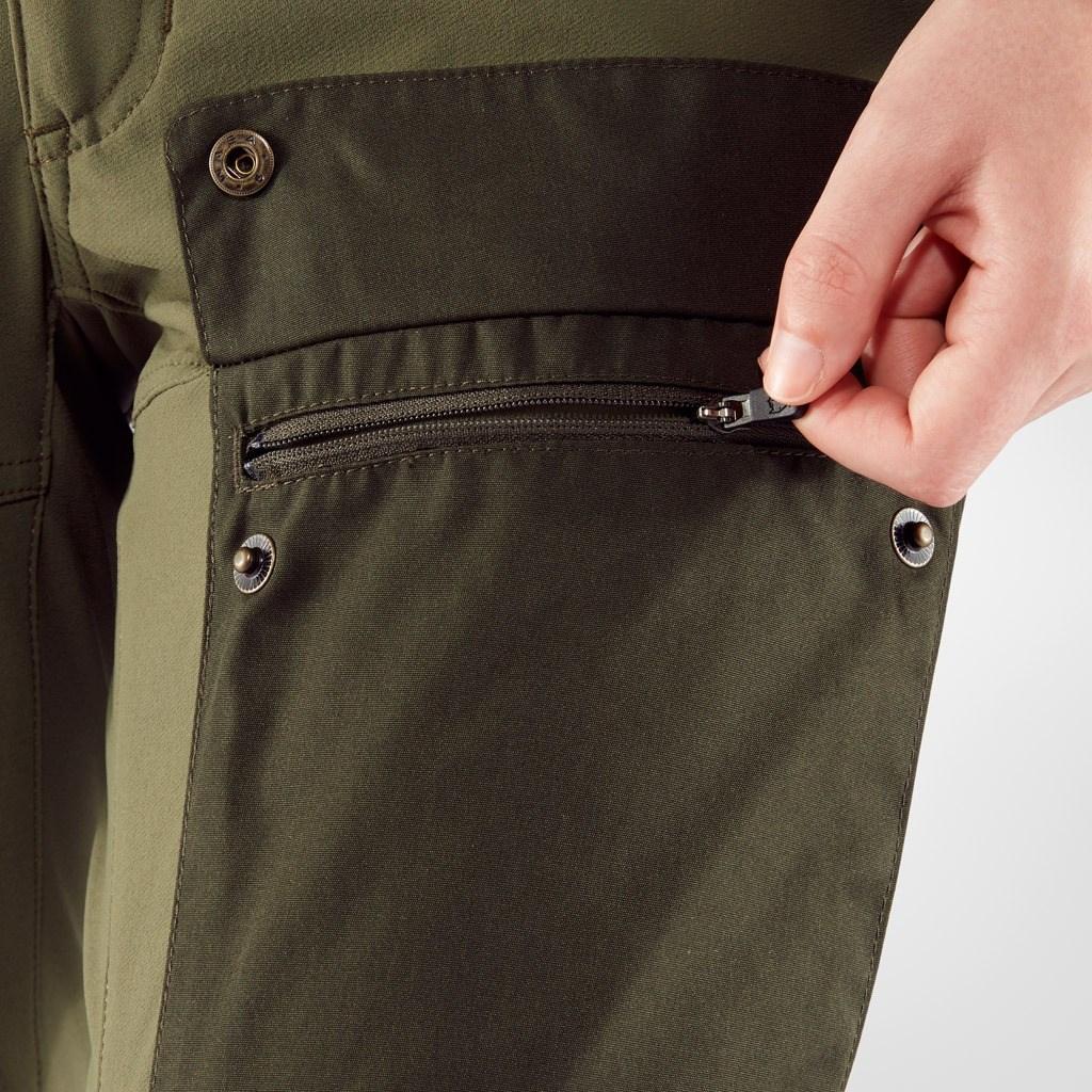 574ce905 ... Bilde: Fjällräven Keb Trousers Curved W, turbukse dame - Dark  Garnet-Plum 89852 ...