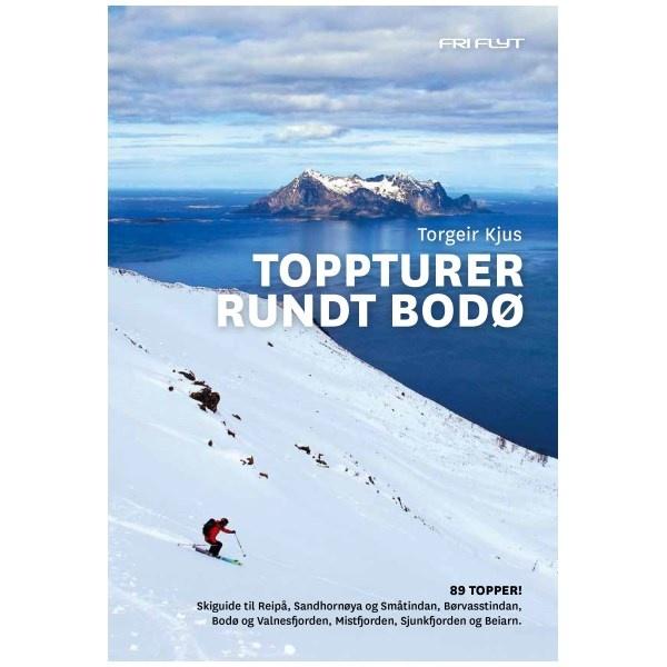 Fri Flyt Toppturer Rundt Bodø guidebok  2018