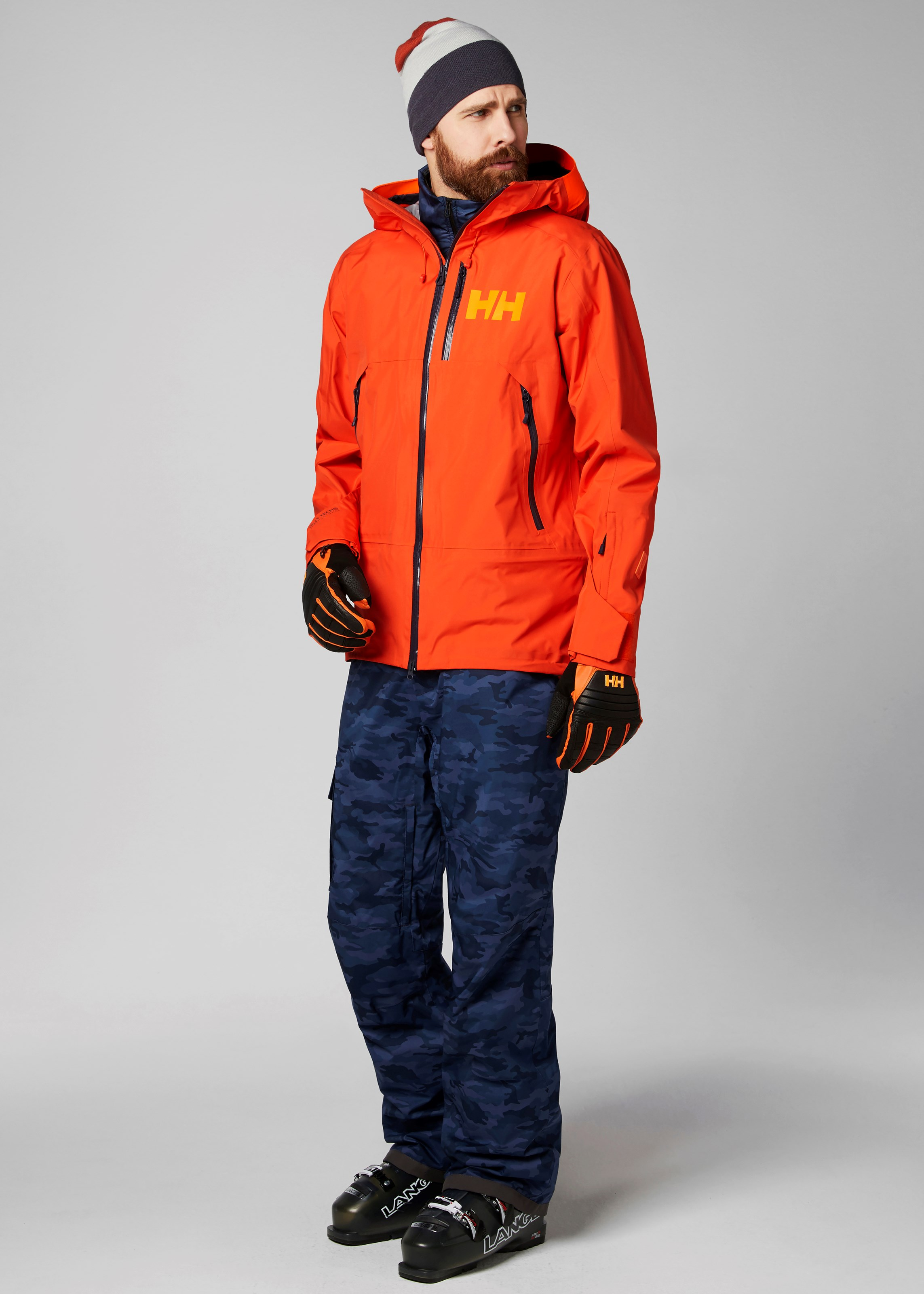 Braasport Helly Hansen Sogn Shell Jacket, skijakke herre