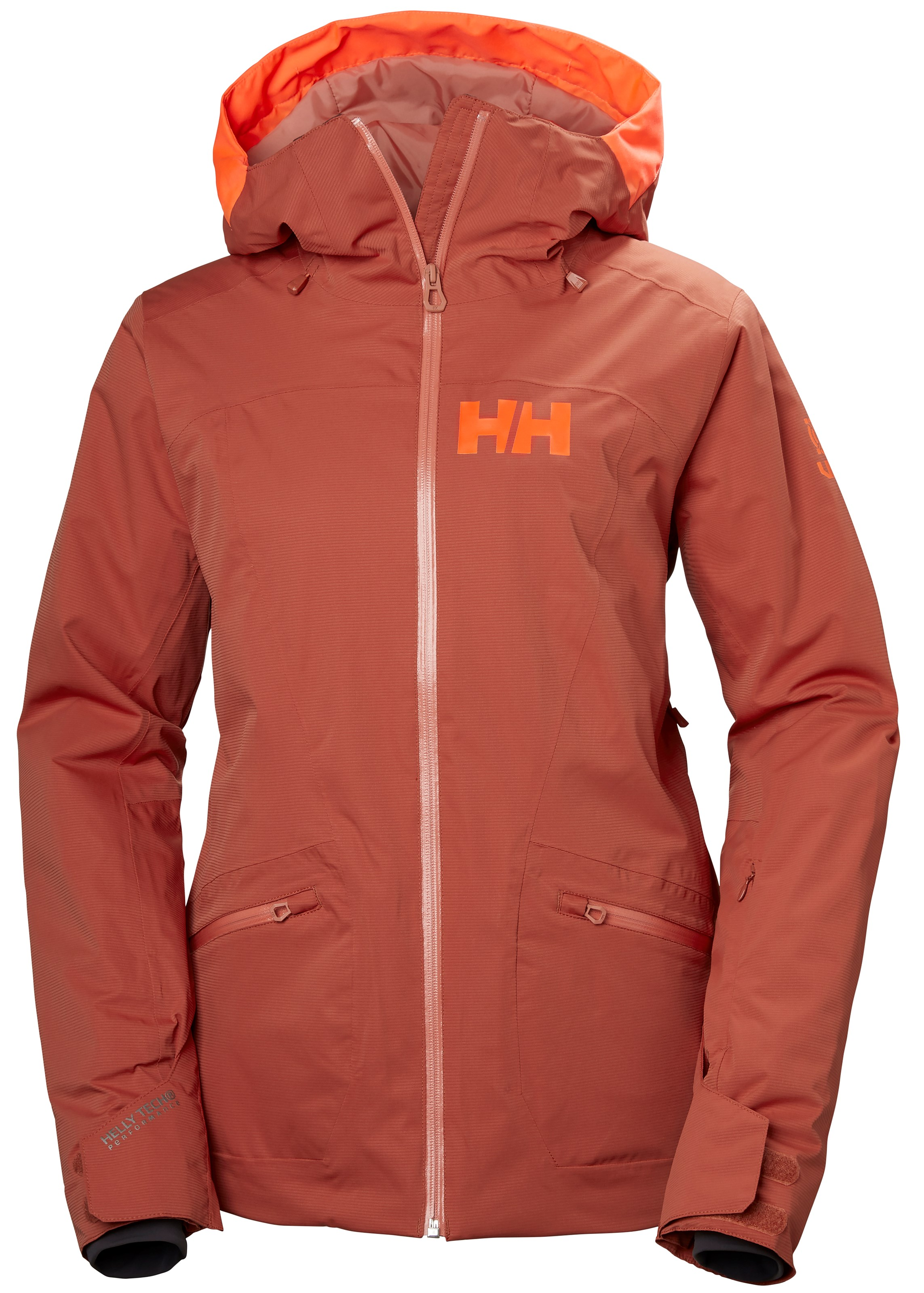 dddf1db4 Helly Hansen W Glory Jacket, skijakke dame Red Brick 65577-199 XS 2018