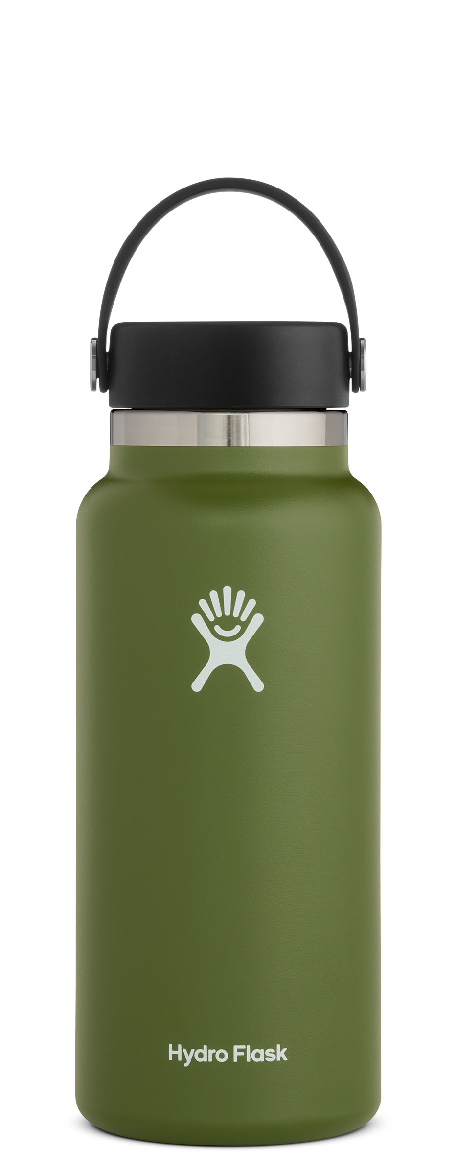 Hydroflask 0.9L Wide Mouth 2.0 Flex Cap drikkeflaske Olive: W32BTS306 2020
