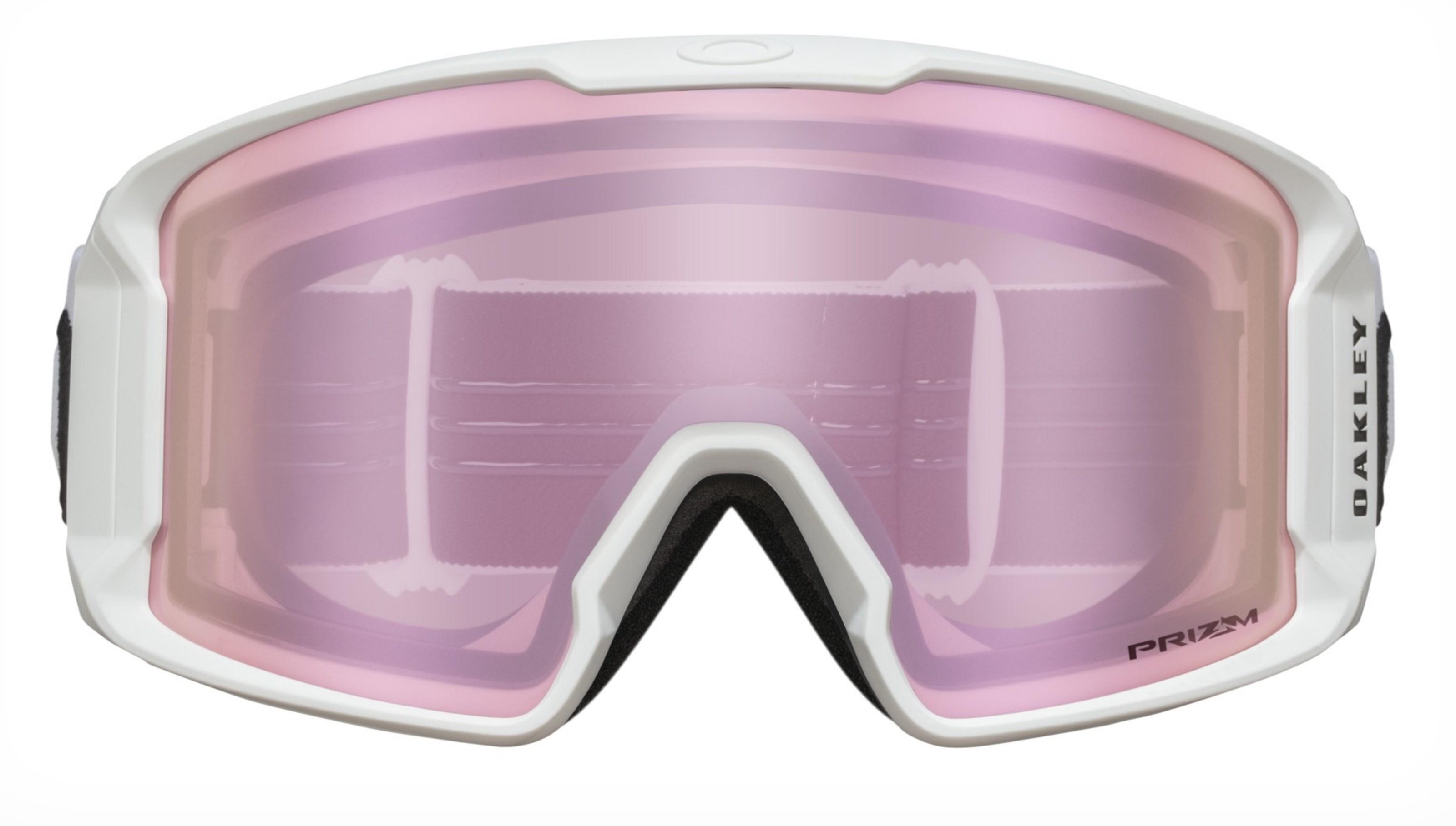 Braasport Oakley Line Miner Matte White Prizm HI Pink