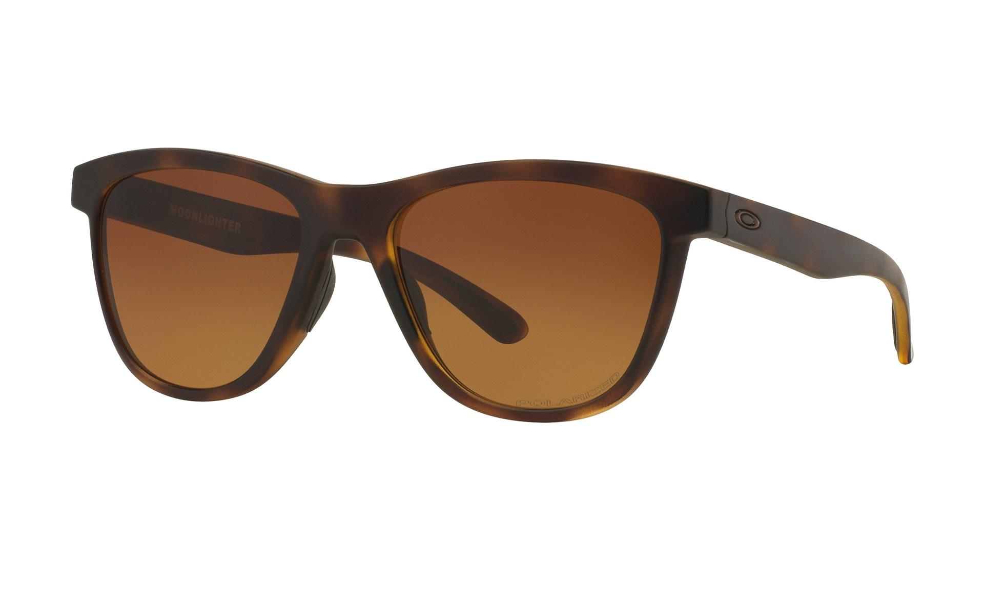 af03d587fd52 Bilde  Oakley Moonlighter Tortoise   Brown Gradient Polarized solbriller -  Tortoise   Brown Gradient Polarized ...