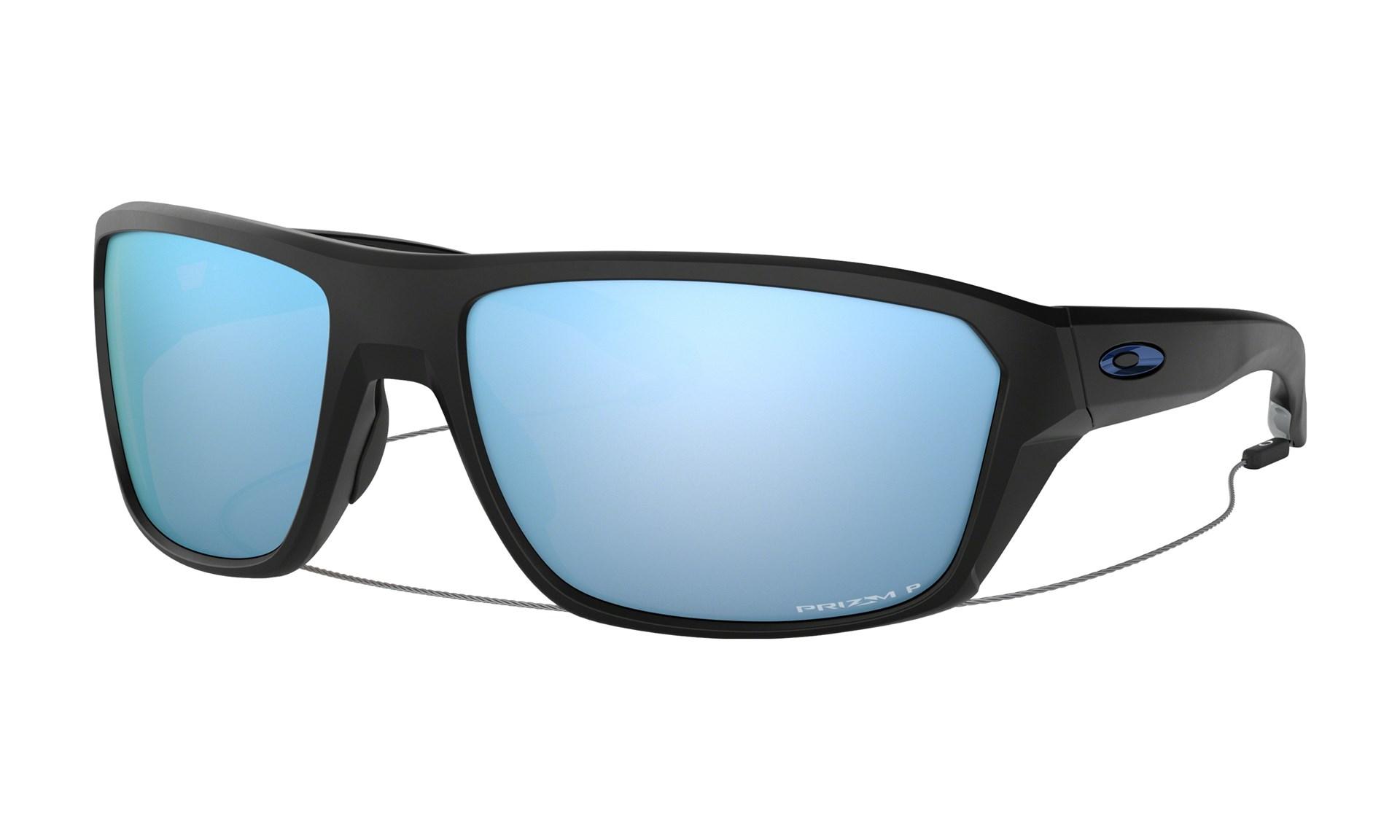 aa84ac1bda96 Bilde  Oakley Split Shot Matte Black   Prizm Deep Water Polarized solbriller  - OO9416- ...