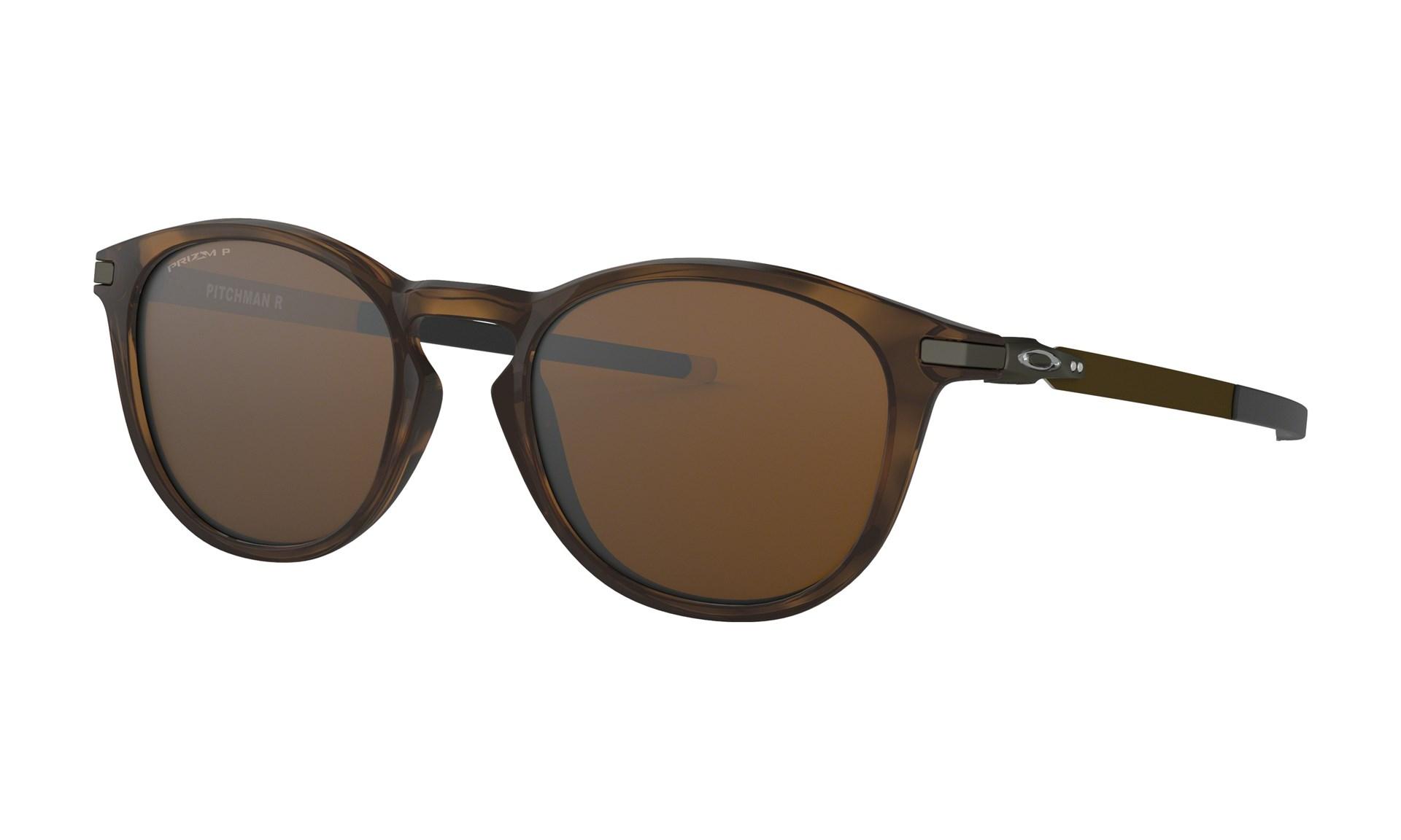 3c84a944eee2 Bilde  Oakley Pitchman R Polished Brown Tortoise w  Prizm Tungsten  Polarized solbriller - Prizm ...