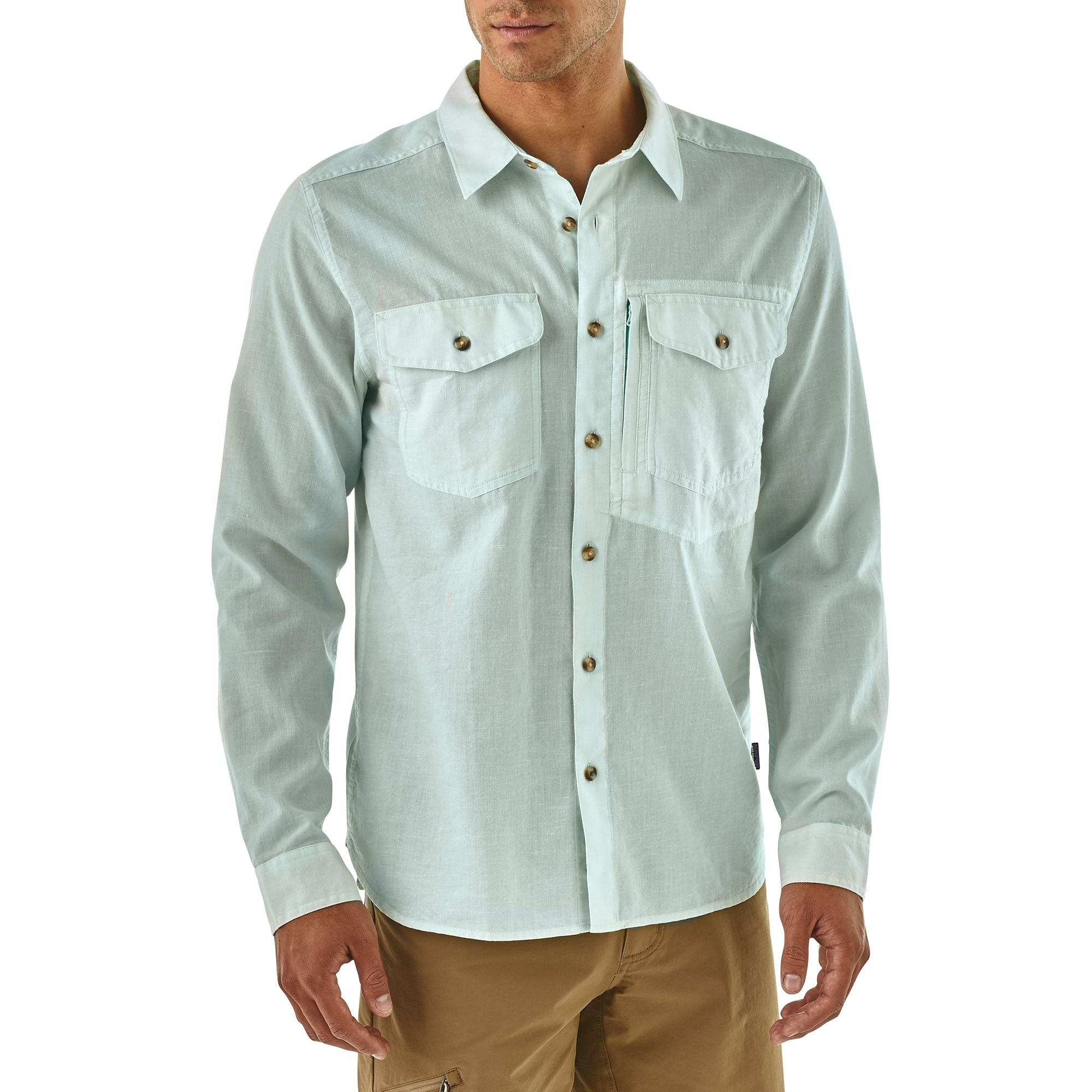 Braasport Patagonia Long Sleeved Fjord Flannel Shirt