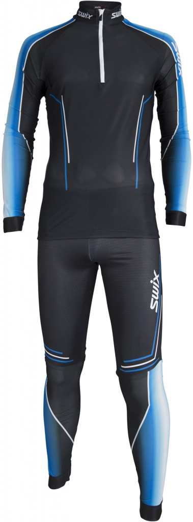Swix Triac 2-pcs skisuit, langrennsdress herre Black 32541-10000 XL 2018