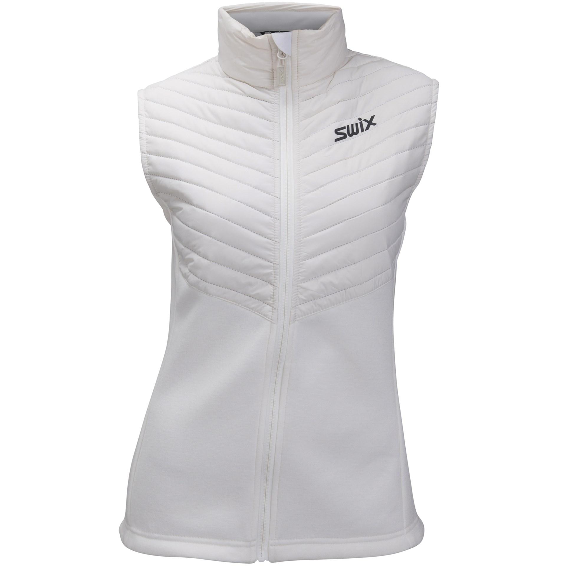 9c7bf6fe Bilde: Swix Blizzard hybrid Vest, langrennsvest dame - Snow White  11766-00025